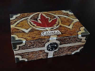 Pyrography, Wood Box