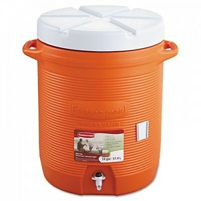 Rubbermaid Commercial Orange Insulated Beverage Container. Best Price