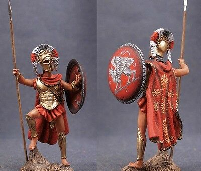 Tin toy soldiers ELITE painted 54 mm Spartan Greek Warrior with Spear