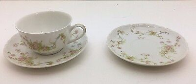 Vintage Bavaria Hutschenreuther Gelb Tea Cup and Two Saucers