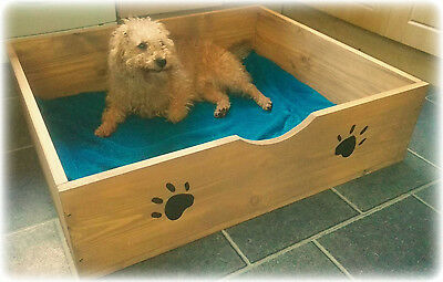 Solid Wooden Whelping Bed / Box / Dog Bed ( With Wooden Flooring ) 4 Sizes