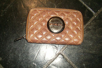 Brown Leather Mimco Ladies Wallet / Purse / Clutch