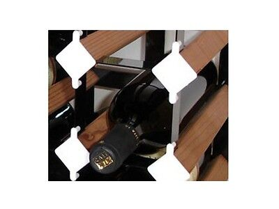 Vinotemp VT-WINECLIPS Wine Rack Labelling Clips - White. Brand New