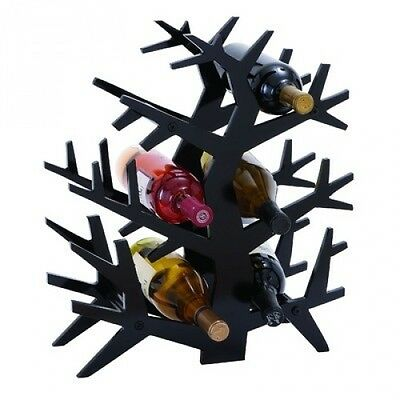 Woodland Imports Tree Branch 6 Bottle Tabletop Wine Rack. Free Shipping