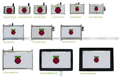 LCD Touch Screen Display for Raspberry Pi 3 / 2 / B+ 2.4inch to 5inch HMI LCD