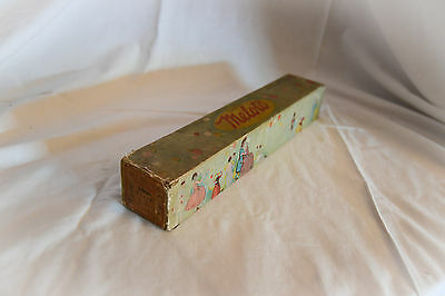 Boxed antique MELOTO pianola, player piano roll: TEARS 31861