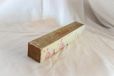 Boxed antique MELOTO pianola, player piano roll: MARCHETA 31959A