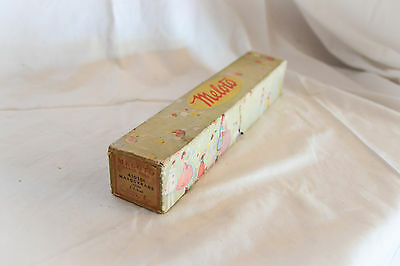 Boxed antique MELOTO pianola, player piano roll: MASQUERADE 41018A