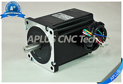NEMA 34 Stepper Motor, 114mm 1160oz-in 5.6A 8Leads, for CNC Router Mill Plasma