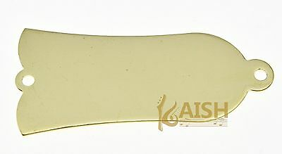 Metal Blank Truss Rod Cover 2 Hole fits Gibson Style Les Paul Gold