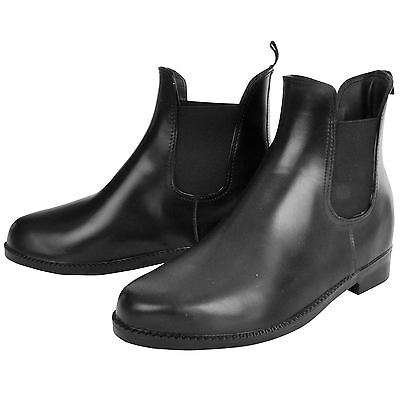 Requisite Starter Horse Riding Jodhpur Boots Womens Black Equestrian Shoes