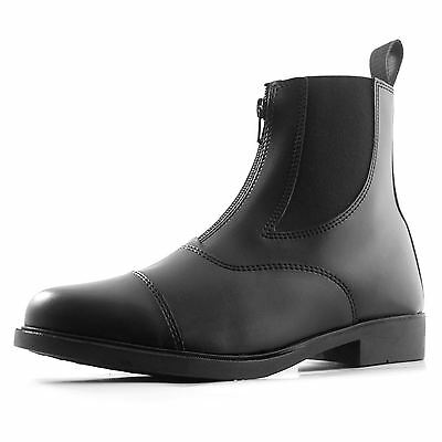 Requisite Darwen Horse Riding Jodhpur Boots Womens Black Equestrian Shoes
