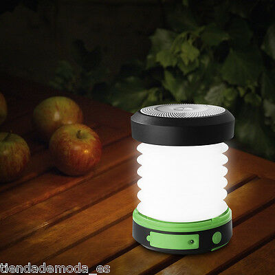 Suaoki Solar LED Camping Lantern USB Rechargeable Collapsible Light Emergencies