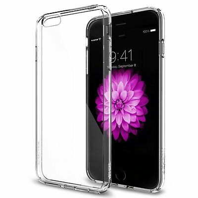 """5 x Pcs Lot [iPhone 6 6S 4.7""""] Silicone Clear Case Soft Gel Cover Rubber Skin"""