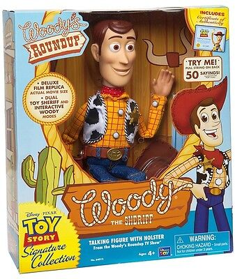 Toy Story Andy's Toy Chest Sheriff Woody Doll Figure Childrens Collection 40 Cm