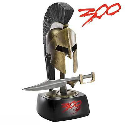 Leonidas Mini Sword Display/Letter opener. NOBLE COLLECTION 300 MOVIE Helmet