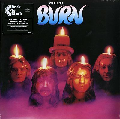 Deep Purple Burn Vinile Lp 180 Grammi Nuovo Sigillato !!