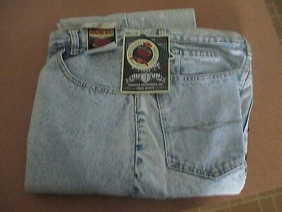 VTG 70s 80s MENS JORDACHE JEANS 34 X 34 Made in Hong Kong NEW WITH TAGS