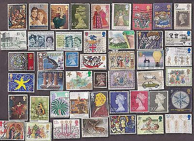 100 All Different GREAT BRITAIN COMMEMORATIVE  Stamps