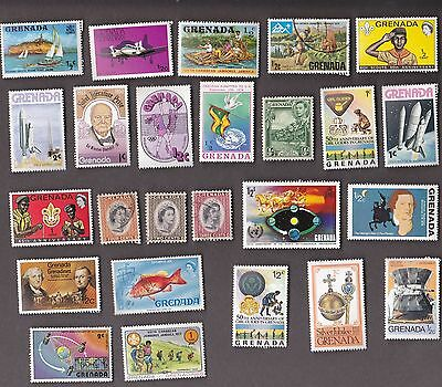 25 All Different GRENADA Stamps