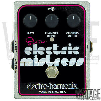 Electro-Harmonix Stereo Electric Mistress Chorus & Flanger
