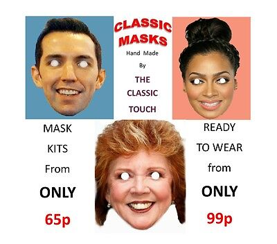 Personalised Custom Face Mask KIts for (1 to 20 Masks) Not Cheap Lowest Prices