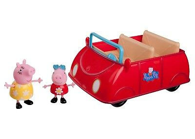 Peppa Pig's Red Car Peppa and Mummy Fun Games to Play for Kids