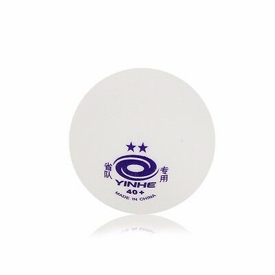 Yinhe 2-Star  ** New Materials Poly /Plastic White Table Tennis Balls XUSHAOFA