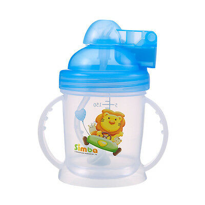 2x Simba Baby 6oz P9924 Training Sippy Cup Replacement Straw Straw Brush Set