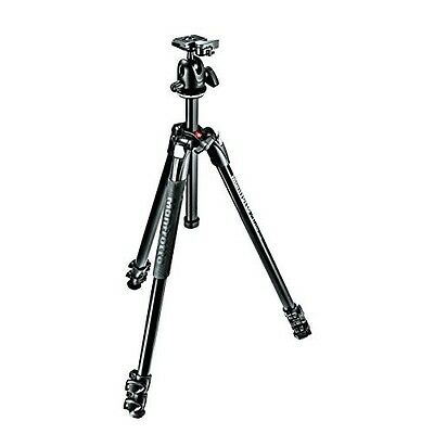 Manfrotto MK290XTA3-BHUS 290 Xtra Ball Head Kit (Black)