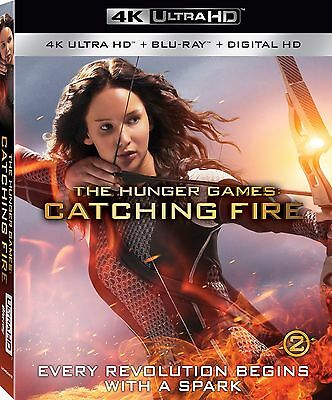 The Hunger Games: Catching Fire (4K Ultra HD)(UHD)(Atmos)