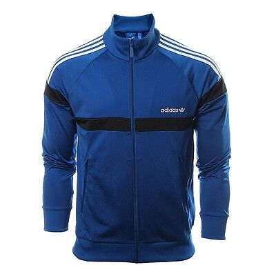 Adidas Originals Itasca TT Full Zip Eqt Blue Men s Track Top Jacket S M L XL 9be4102db5d2