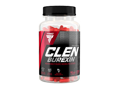 Trec CLENBUREXIN 90 caps. Thermo Fat Burner Thermogenic Effective WEIGHT LOSS!