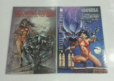 1995 8.0//VF 1995 Vampirella Shadowhawk Creatures of the Night #2
