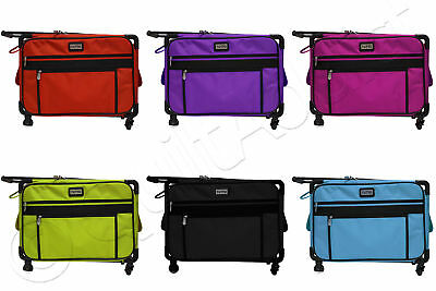 "Tutto Tote on Wheels Medium 20"" - Choose from 6 Colors - Sewing Machine Case Bag"