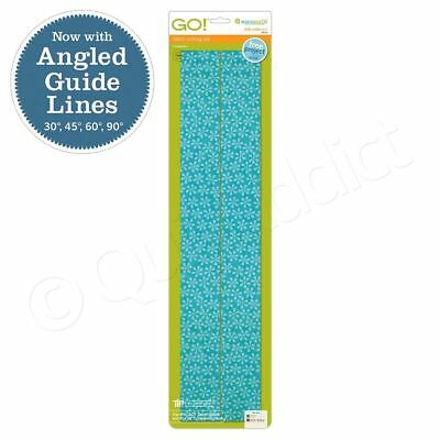 """AccuQuilt GO! Baby Strip Cutter - 2 1/2"""" (2"""" Finished) Fabric Cutting Die 55014"""
