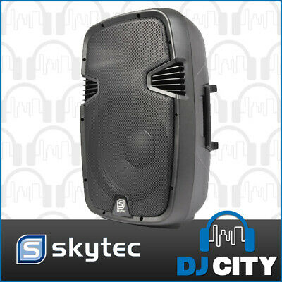 "SPJ-1500A 15"" Inch Active 800W Powered Speaker Amplifier PA DJ PUBLIC ADDRESS..."