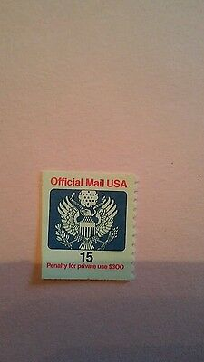 Postal Savings Stamp Issue Stamp 1988 Single O138A Mint Never Hinged#