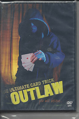 The Ultimate Card Trick - OUTLAW - DVD plus Gimmicked Cards - NEW -Free Shipping
