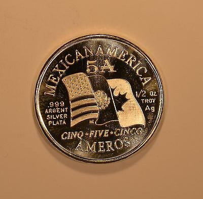 2009 Silver Amero Pattern coin for the North American Union