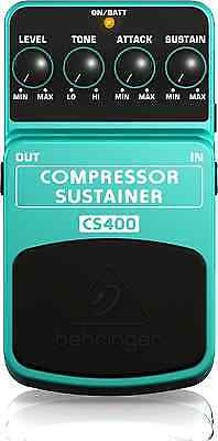 Guitar Bass Accessories Compressor Ultimate Dynamics Effects Pedal Super Smooth