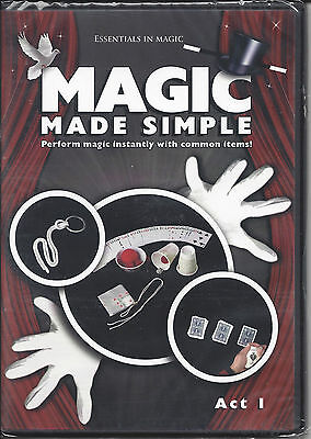 Magic Made Simple - Act 1 - Perform Magic Instantly with Common Items! - NEW