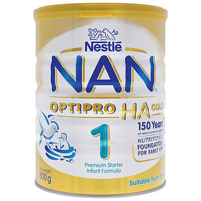 NAN OPTIPRO HA Gold Stage 1 Premium Infant Formula 800g From Birth *NEW*