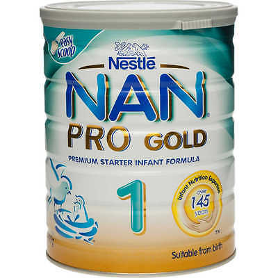 NAN PRO GOLD Stage 1 Formula 800g Suitable from Birth *NEW*