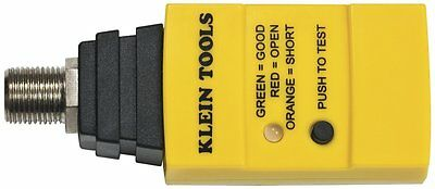 Klein Tools Coax Explorer Tester Network Coaxial Cable Wire Tracker Tracer Tool