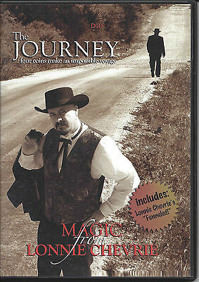 The Journey by Lonnie Chevrie - DVD - Magic Tricks - Free Shipping