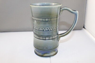 Vintage Wade Ulster Irish Porcelain Tall Mug, Harp Shape Handle 1953 - 54