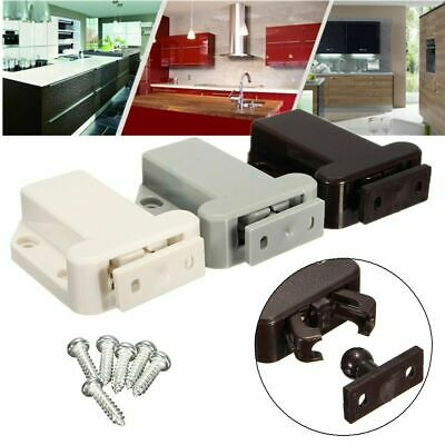 Push To Open Catch Lock Drawer Cabinet Catch Touch Latch Cupboard Bedroom