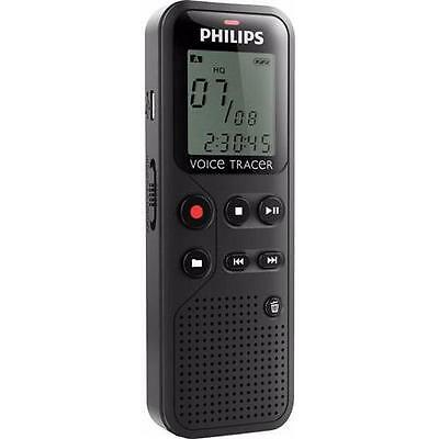 Philips 4 GB Voice Tracer Audio Recorder Notes Recording DVT1150