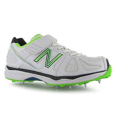 New Balance 4040 Cricket Shoes Spikes Mens White/Green